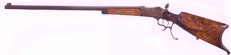 William ( Bill ) Staege personal 25-35 Schuetzen rifle